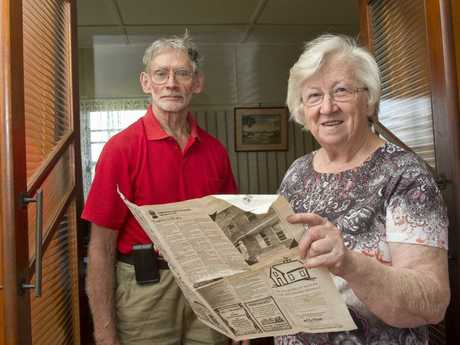 Allen and Ruth Stiller remember the big hail storm that hit Toowoomba in 1976.