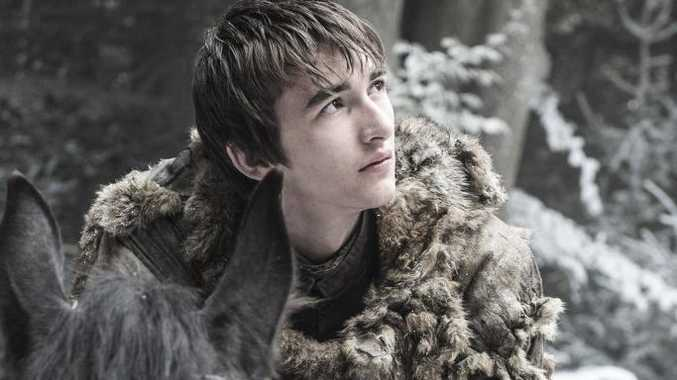 Isaac Hempstead Wright as Bran Stark in a scene from the season six of the TV series Game of Thrones.