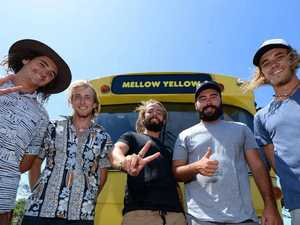 Mellow Yellow fellows spread message about mental health