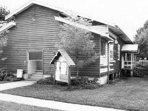 BACKWARD GLANCES: Halls were valued social hubs