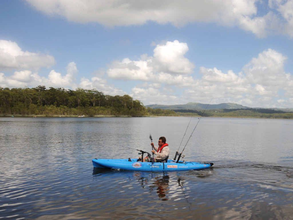 RANGE OF ACTIVITIES: Maddock Park is a great spot for paddling, bush walking, mountain biking and horse riding.