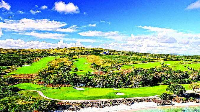 Natadola Bay rates as one of Fiji's most testing golf courses.
