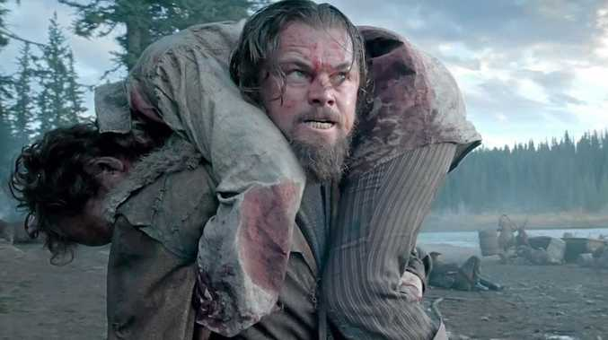 STRUGGLE: Leonardo DiCaprio as Hugh Glass in a scene from the movie The Revenant.
