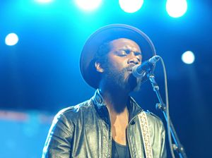 Gary Clark Jr inspired by baby Zion