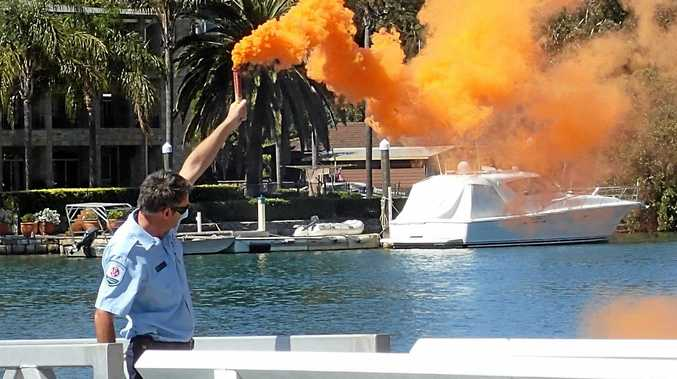 A flare disposal program is being run by the Roads and Maritime Services.