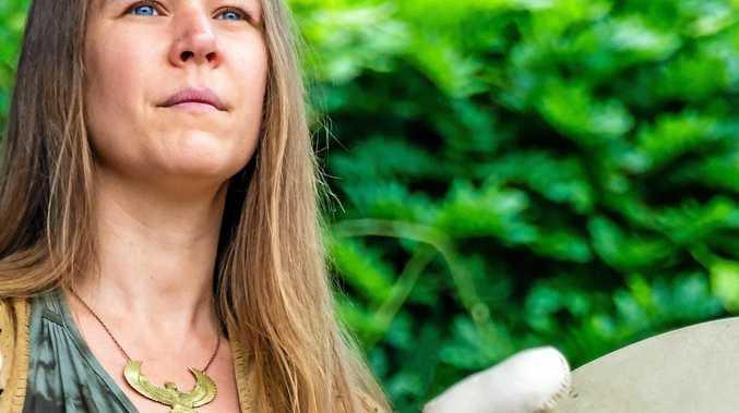 ANCIENT WISDOM: Canadian Kari Barron will share the ancient indigenous wisdom of the Mi'kmaq Elders of Canada and the Shipibo Shamans of Peru at Bangalow's Starlight Festival.