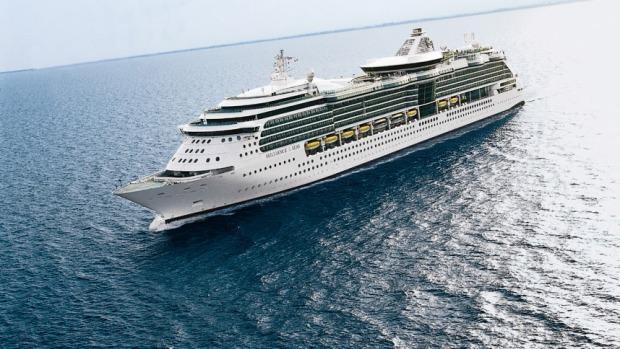 Brilliance of the Seas cruise ship, Royal Carribean International.