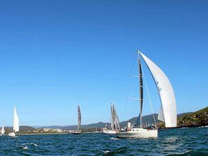 Runaway runs ahead of fleet to win Coffs To Paradise race