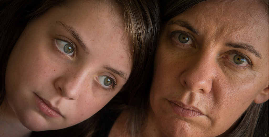 ANXIOUS: Cystic fibrosis sufferer Evie Marshall, 10, and her mum Sonia are hopeful the Federal Government will approve a new treatment to be listed on the Pharmaceutical Benefits Scheme.