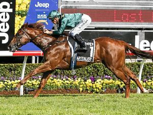 Goomburra win in the Magic Millions Classic racing event