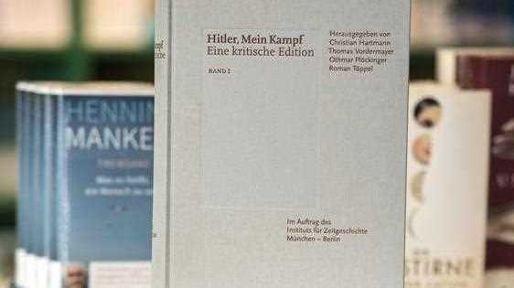 First published in 1925, Mein Kampf details Hitler's political views and plans for Germany's future. The new controversial edition printed by the Munich-based Institute for Contemporary History contains some 3,500 annotations and footnotes by historians to critique and refute the Nazi leader's ideology.
