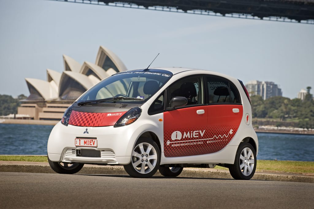 OLD SPARKY: Mitsubishi's pricey i-MiEV is how many of us still perceive electric cars. Fear not, the game has move on. Lots.