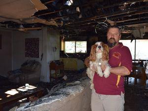 Fire destroys Thangool home