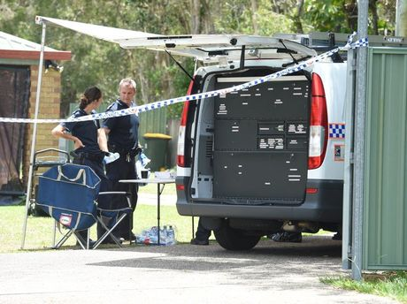 A three-year-old child sustained a gunshot wound at this Morayfield address.