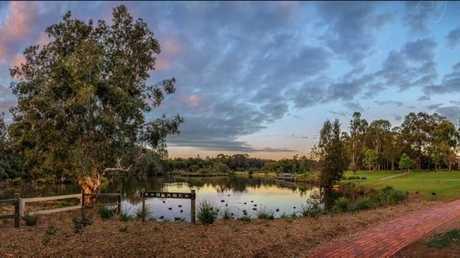 The Toowoomba Waterbird Habitat.