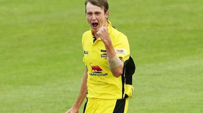 Joel Paris in action for the West Australia Warriors in the Matador Cup. Photo: Getty Images