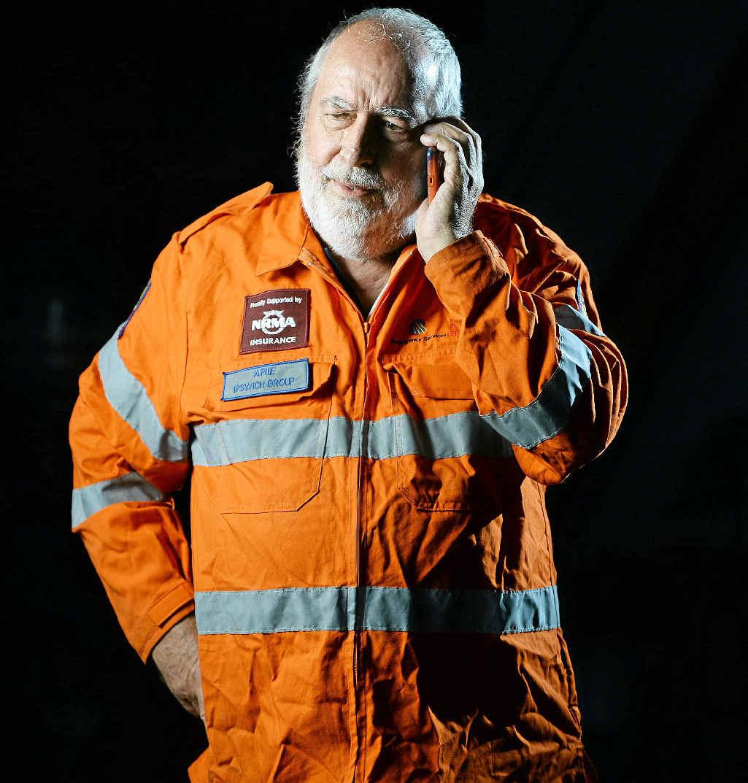 UNFORGETTABLE: Arie van den Ende before his retirement in 2014.