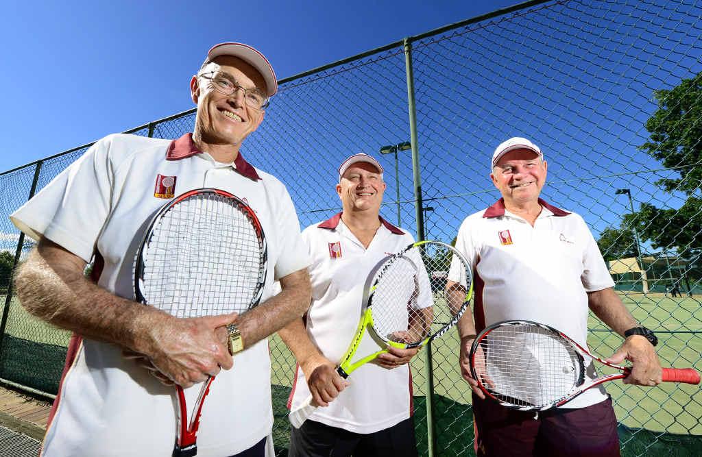 Veteran hot shots serve up a storm | Queensland Times