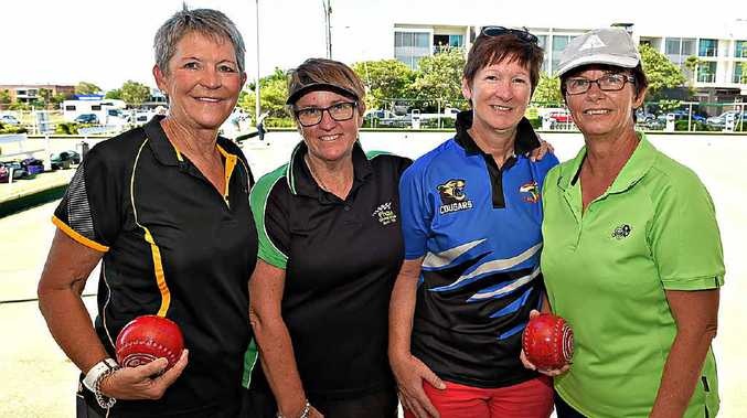 Coolum Beach's formidable fours team of Louise Witton, Liza Burgess, Brenda Balchin and Marilyn Clayton has been hiatus for two years, but is set for a return in 2016.