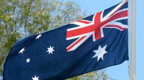 OUR FLAG: Australian flag. Photo: Max Fleet / NewsMail