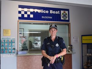 A new face at the Buderim Police Beat