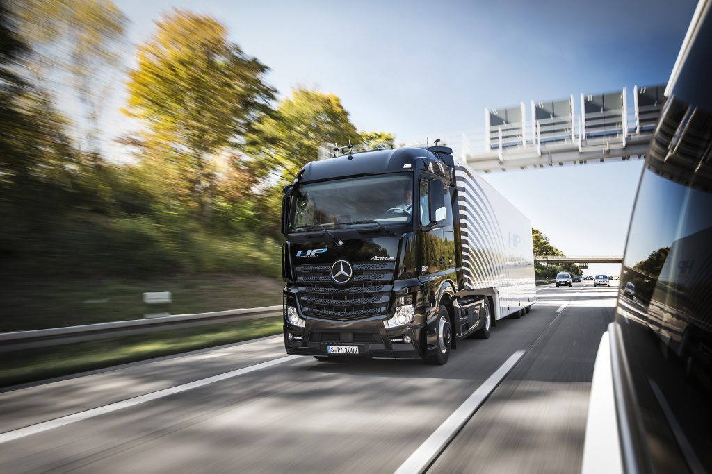 Shaping Future a Mercedes-Benz Actros Highway Pilot.