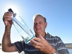 Message in a bottle found in Tassie after Antarctic journey