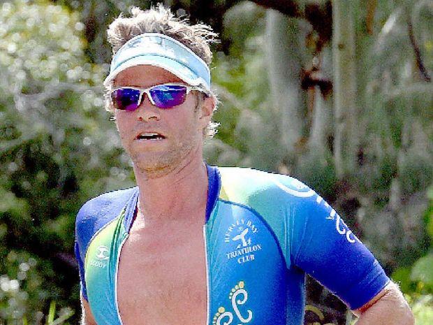 GOOD START: Lars Olsen was the overall male winner.