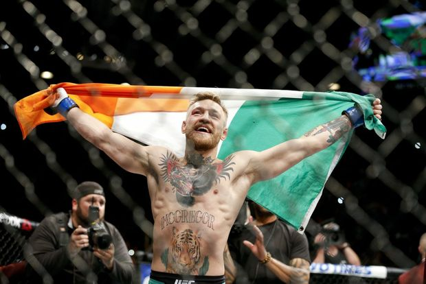 THE NOTORIOUS: Trash-talking Featherweight Champion Conor McGregor has taken UFC - and the world - by storm, and reaffirmed his place as one of the most lethal men inside the Octagon when he knocked out Jose Aldo in 13 seconds.