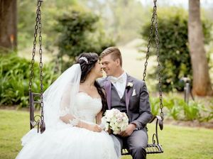 Twist of fate brings couple to Toowoomba for wedding