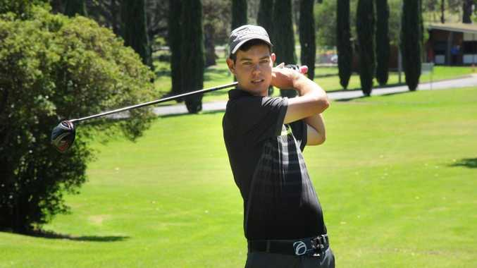 Borneo Barracks golfer Blair Aitken flies to the United States on Friday to begin a college golf scholarship.