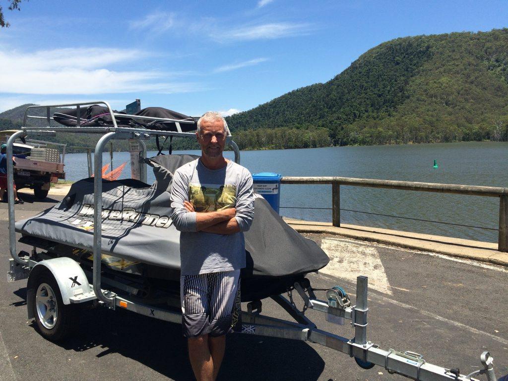 Kieran Bibby learns Borumba Dam has been closed due to blue-green algae.