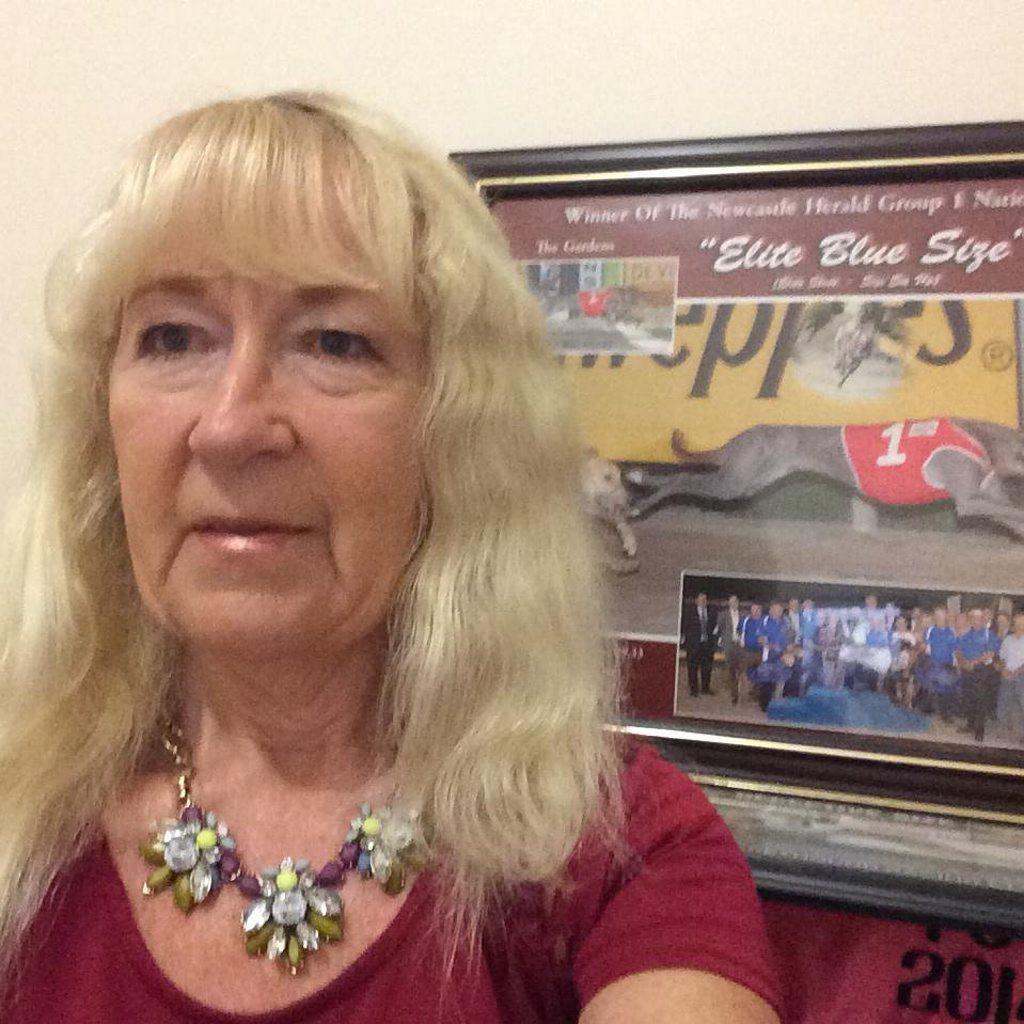 Greyhound trainer Julie Elizabeth Edmondson.