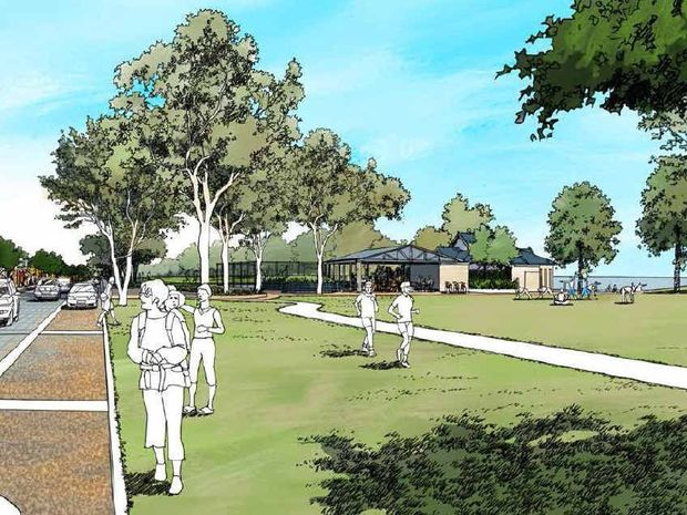 DEVELOPMENT: The Hervey Bay Esplanade will be developed over 20 years.