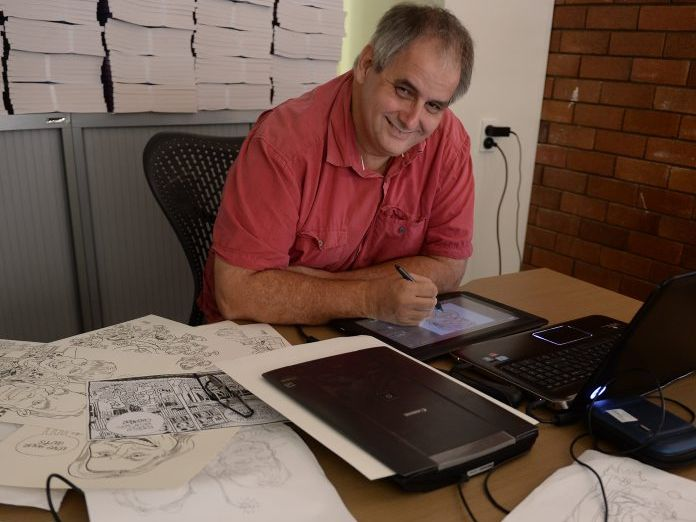 Meet the Daily Mercury cartoonist Harry Bruce | Daily Mercury