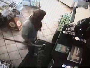 Sledgehammer wielding bandits steal ciggies at Tanawha