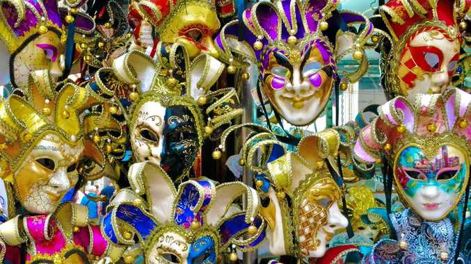 HERITAGE: Masks have always been an important feature of the Venetian carnival. Traditionally people were allowed to wear them between the festival of Santo Stefano (St. Stephen's Day, December 26) and the start of the carnival season at midnight of Shrove Tuesday.