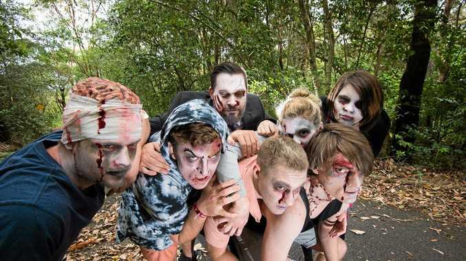 Zombie walkers soon in Lismore. Photo Trevor Veale/Coffs Coast Advocate