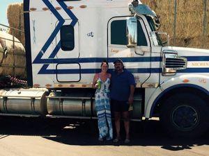 Moura truckie joins Hay Run