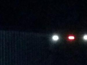 Reader spots UFOs above Burnett Heads