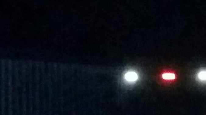 A UFO over Burnett Heads.