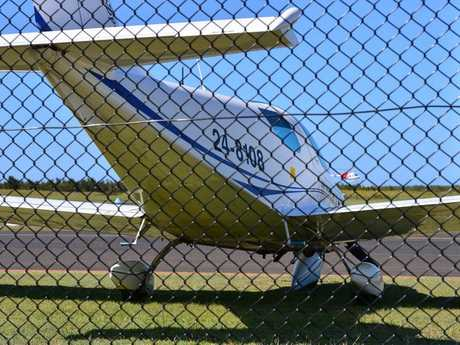 The nose wheel of a Piper Sport light plane collapsed at Sunshine Coast Airport creating a scare for the pilot and his passenger.