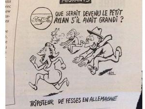 Charlie Hebdo calls dead infant a potential 'groper'