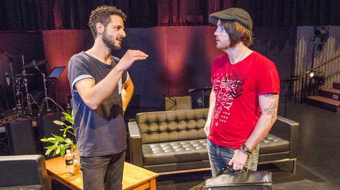 Lior talks to McGregor Summer School voice student Scot McDade.