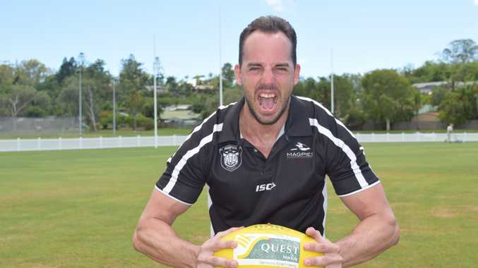 New Magpies coach Nick Thiele fired up for the season ahead.