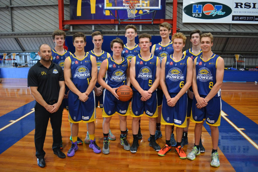 UP TO THE PLATE: Ray Cooper's under-18 boys are primed for a top-four assualt in the Basketball QLD State Championships starting on Monday. Photo Nick Kossatch / Observer