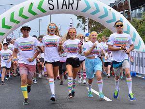 Teen surf champ makes colourful return