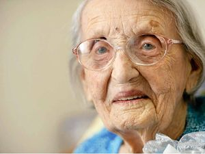 A final goodbye to Ipswich's oldest woman, aged 106