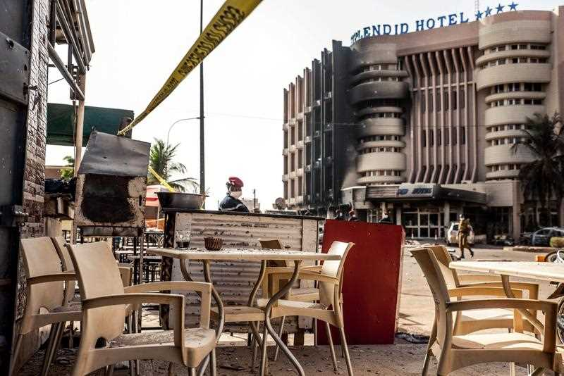 According to media reports at least 23 people from 18 nationalities have been killed after Islamist militants attacked The Splendid Hotel frequented by many westeners in Burkina Faso. A joint operation by French and Burkina Faso forces freed many hostages. Al-Qaeda in the Islamic Maghreb (AQIM) has claimed responsibility.