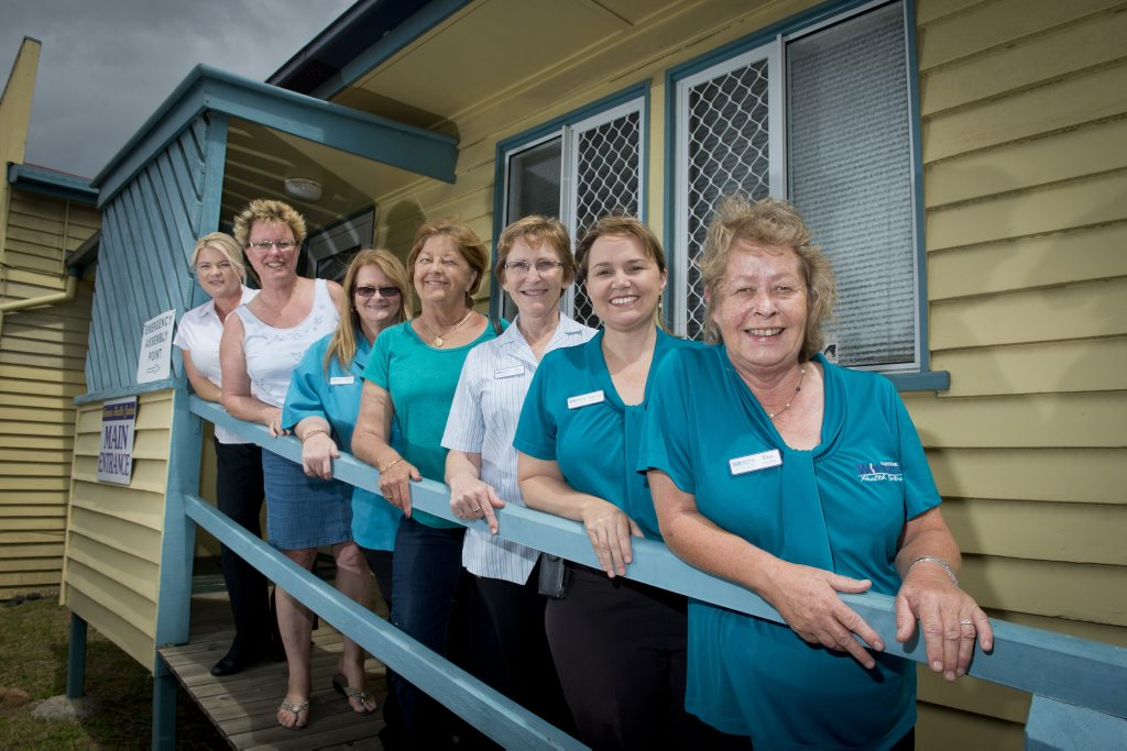 WE ARE WOMEN: Gladstone's Women's Health Centre ready to welcome teen mums to playgroup. Photo Paul Braven / The Observer